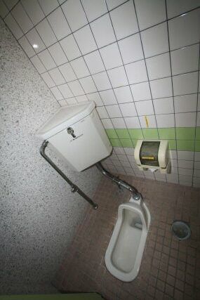公共施設のトイレを和式から様式へリフォーム!